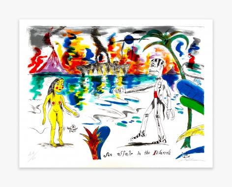 H.C. Westermann Six Lithographs – An Affair in the Islands, 1972
