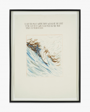 Raymond Pettibon No Title (To do the…)