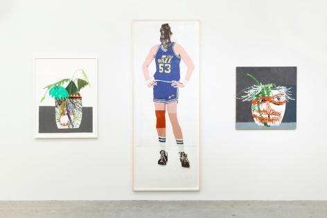 Installation view of The Art of Collaboration, New York, Venus Over Manhattan, 2018