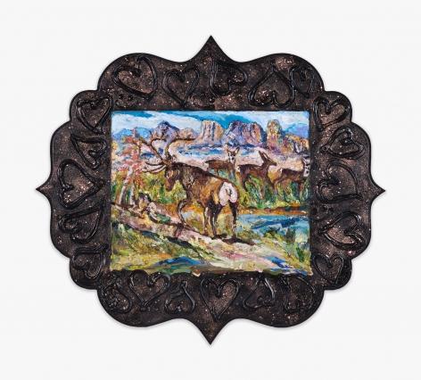 Annelie McKenzie Elk Bum Scene (after Gladys Johnston), 2016
