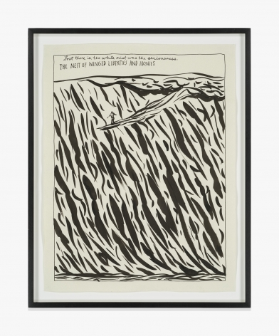 Raymond Pettibon No Title (Lost there in…)