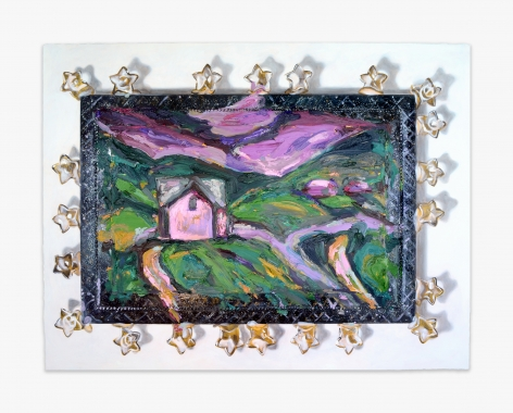 Annelie McKenzie Like Caralee's House At Night (After Sarah Robertson), 2016