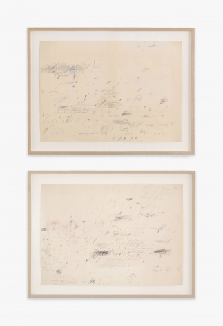 Cy Twombly Untitled, 1959