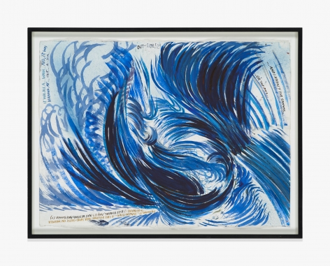 Raymond Pettibon No Title (Drawing it... drawing…)