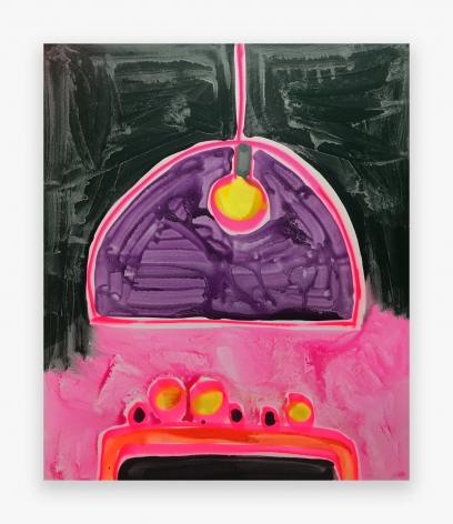 Katherine Bernhardt Kartell Pink Vision, 2016