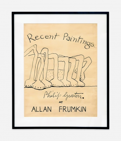 Philip Guston Recent Paintings at Allan Frumkin, 1978