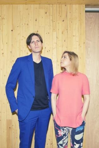 Michael Nevin and Julia Dippelhofer. Photo: Kate Owen