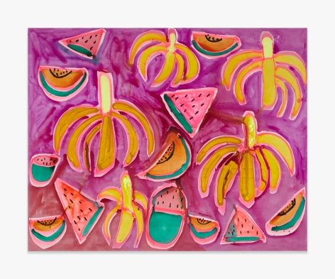 Katherine Bernhardt Jungle Snack