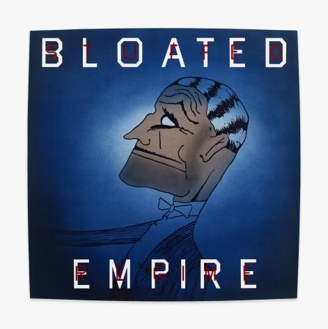 Ed Ruscha Bloated Empire, Stuffed Regime, 1997