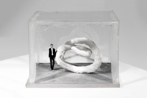 Franz West Treffpunkt, Model Vitrine 1, 2006