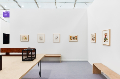 Installation view of H.C. Westermann, Frieze New York, 2016