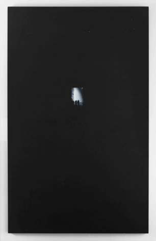 Jack Goldstein, Untitled (#26), 1981. Acrylic on canvas 96 x 60 inches. Courtesy of Venus over Manhattan.
