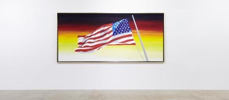 #RAWHIDE Ed Ruscha Our Flag
