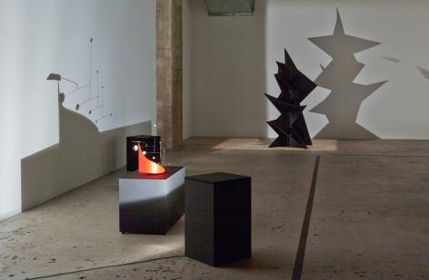 Calder Shadows Bronze Quadrilateral Monsier Loyal (Ringmaster) (1:5 Intermediate Maquette)