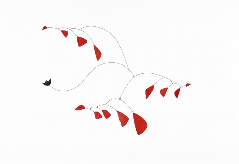 Alexander Calder Little Black Flower
