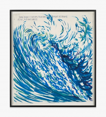 Raymond Pettibon No Title (Some things sea…)