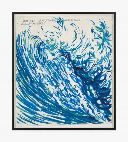 Raymond Pettibon No Title (Some things sea…)