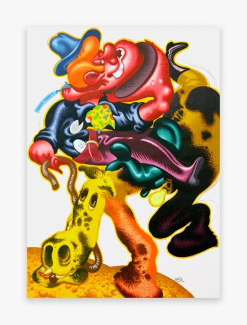 Peter Saul Cowboy and Horse, 1985