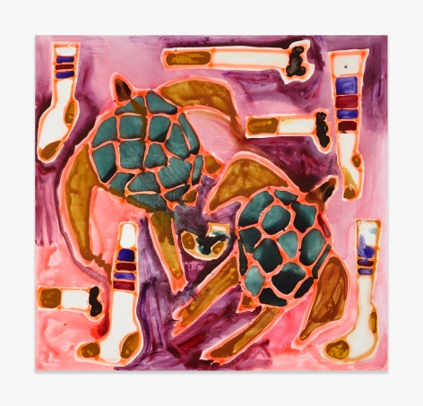 Katherine Bernhardt Turtles and Socks