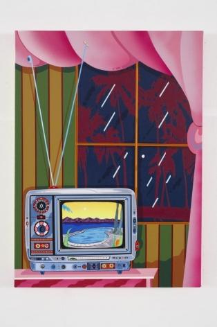 """Run Down Vanity, 2015, Acrylic on Canvas, 30"""" x 22"""""""