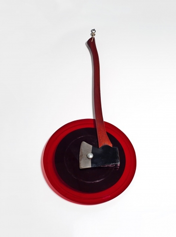 William T. Wiley Slab's Axe in Change, 1968