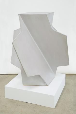 John Mason Folded Cross, White