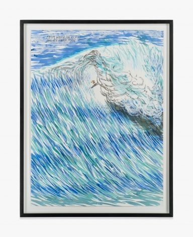 Raymond Pettibon No Title (From which she…)