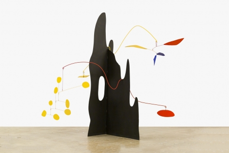 Alexander Calder Crag with Petals and Yellow Cascade, 1974