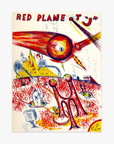 "H.C. Westermann Red Planet ""J,"" 1967"