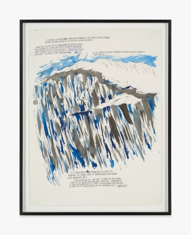Raymond Pettibon No Title (A nature you…)