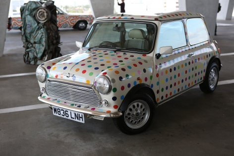 Untitled (Spot Mini) by Damien Hirst