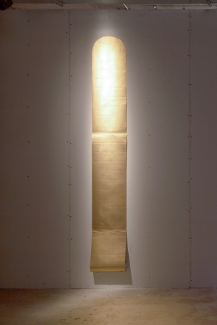 James Lee Byars The Golden Scroll
