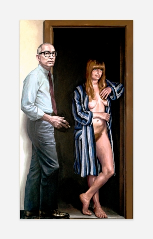 Willard Midgette AF Showing Doorway with Model, 1971