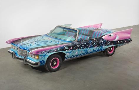 Kenny Scharf Daisymobile, 2014
