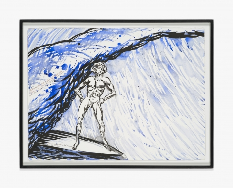 Raymond Pettibon No Title (And as a…)