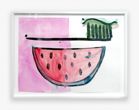 Katherine Bernhardt Untitled, 2016