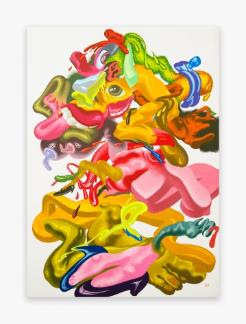Peter Saul Exquisite Corpse, 1980