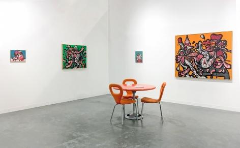 Installation view of Maryan, Art Basel Miami Beach, 2018