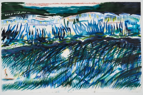 Raymond Pettibon, No Title (This Left Was), 2012