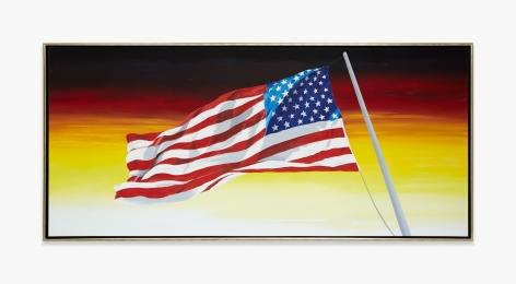 Ed Ruscha Our Flag