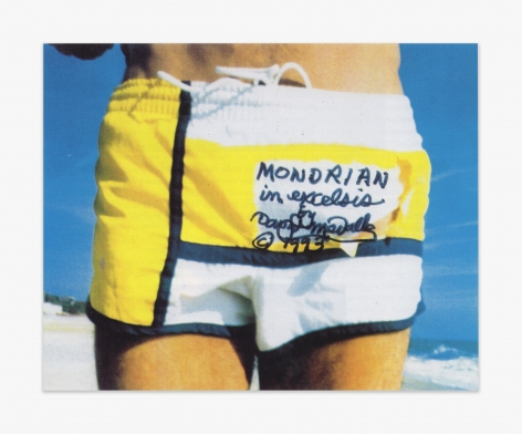 David Medalla Mondrian in Excelsis, Fire Island, 1994