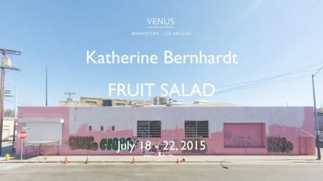 Installation video of Katherine Bernhardt: Fruit Salad, Venus Over Los Angeles, Los Angeles, 2015