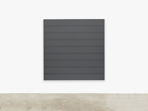 Painting by Agnes Martin titled Untitled #2 from 1989
