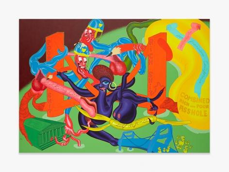 Peter Saul Self-Defense, 1969 PSAUL024
