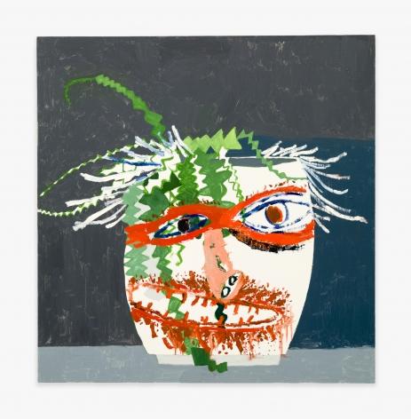 Mark Grotjahn + Jonas Wood Untitled, 2009