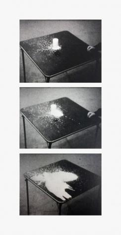 Jack Goldstein A Glass of Milk, 1972