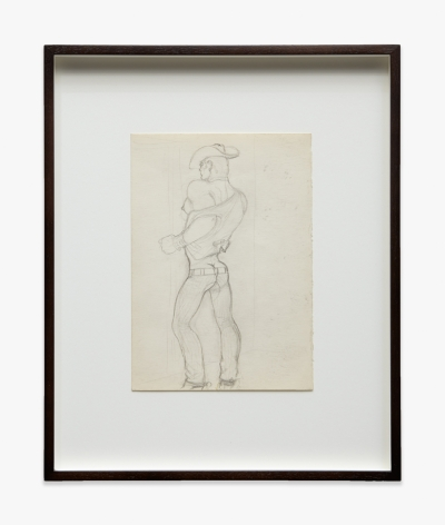 Tom of Finland Untitled (Preparatory Drawings)