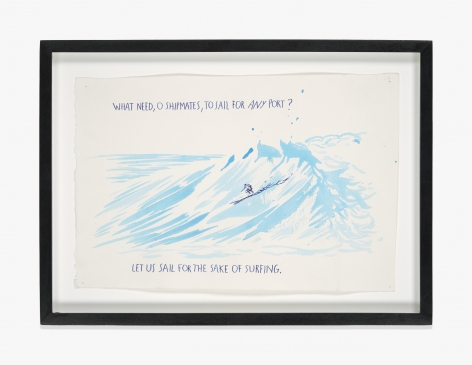 Raymond Pettibon No Title (What need, o…)