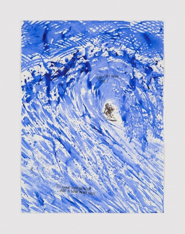 Raymond Pettibon  No Title (Drop in with…)