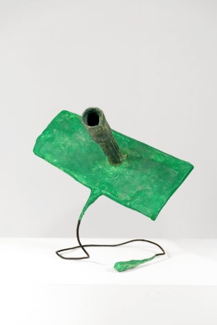 Franz West Untitled (Röhrenpaßstück), 1980
